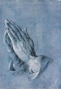 Praying Hands by Albrecht Duerer {PD-ART}